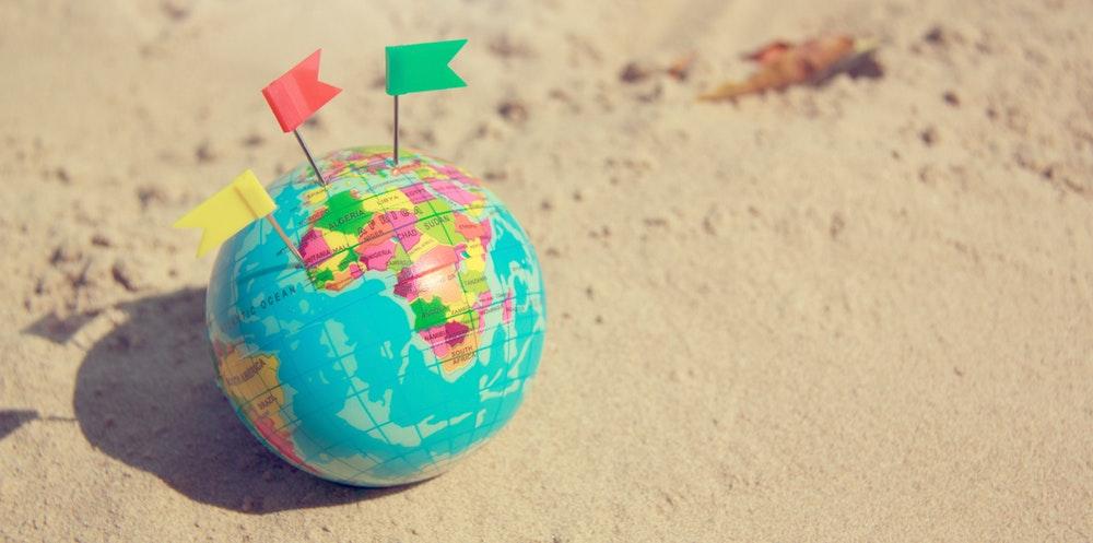 Arbejd i udlandet med en webshop